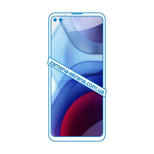 дисплей и стекло корпуса  для замены Motorola Moto G100