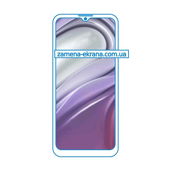 дисплей и стекло корпуса  для замены Motorola Moto G20