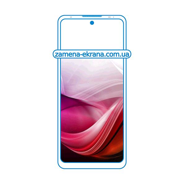 дисплей и стекло корпуса  для замены Motorola Moto G40 Fusion