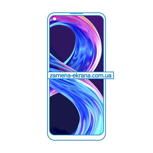 дисплей и стекло корпуса  для замены Realme 8 5G