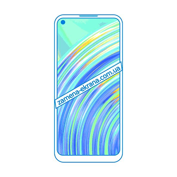 дисплей и стекло корпуса  для замены Realme C17