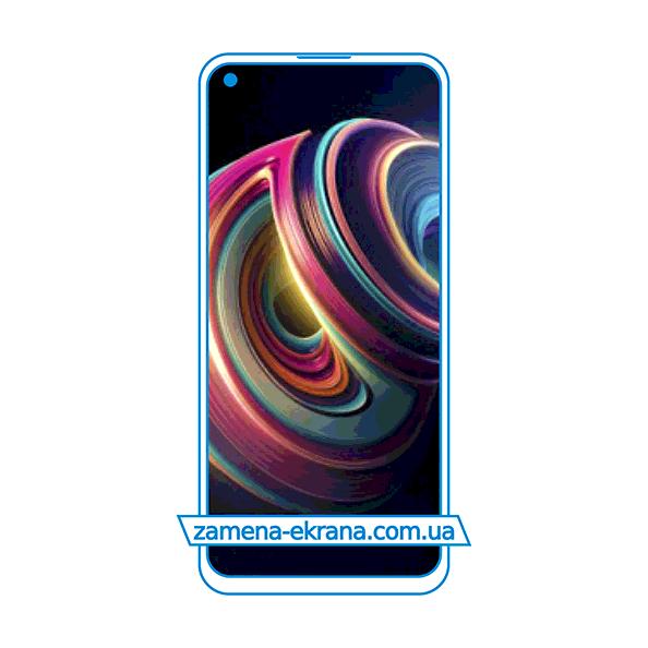 дисплей и стекло корпуса  для замены Realme GT Neo