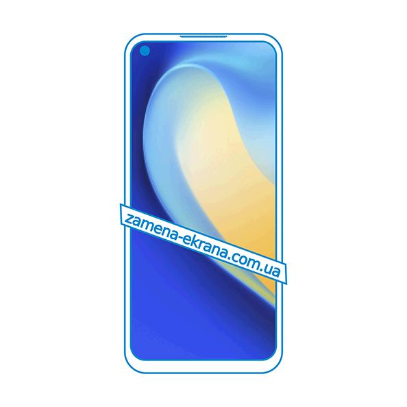 дисплей и стекло корпуса  для замены Realme Narzo 30