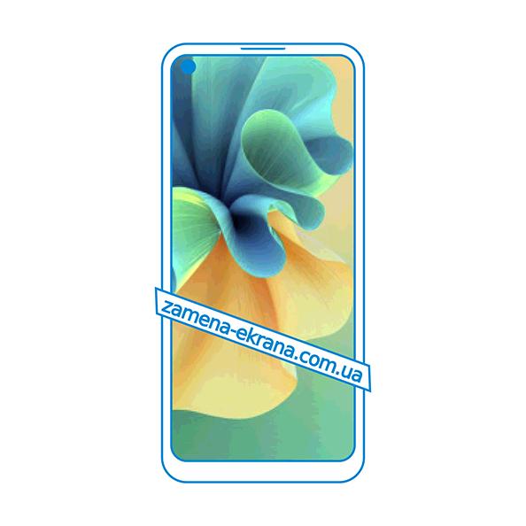 дисплей и стекло корпуса  для замены Tecno Spark 7 Pro