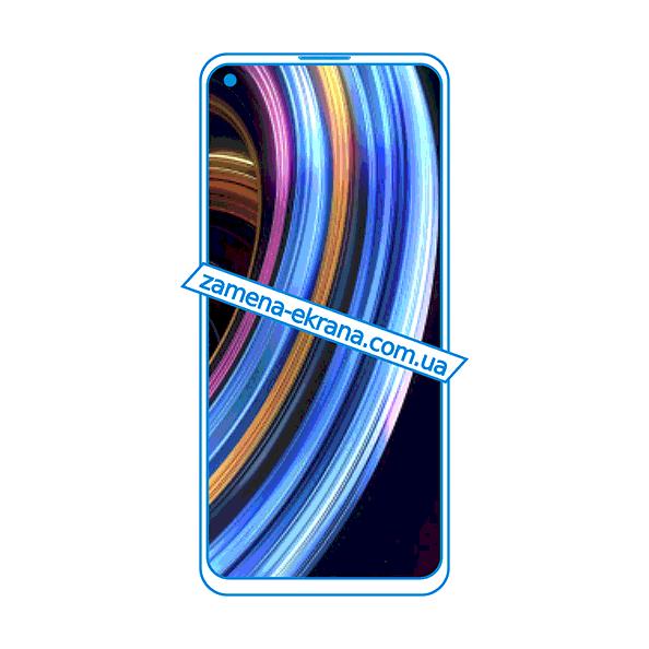 дисплей и стекло корпуса  для замены Realme X7 Max 5G