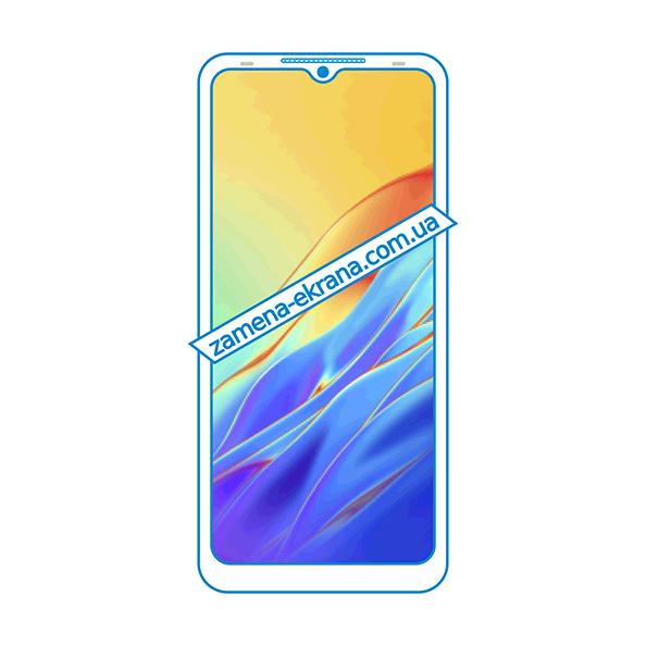дисплей и стекло корпуса  для замены Tecno Spark 7T