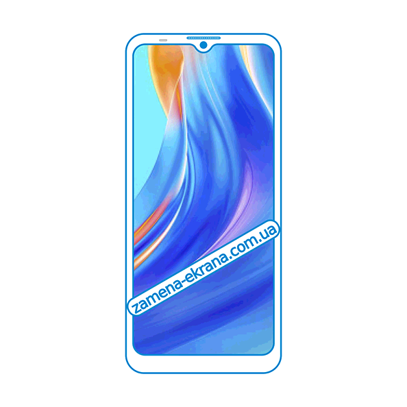 дисплей и стекло корпуса  для замены Tecno Spark Go 2021