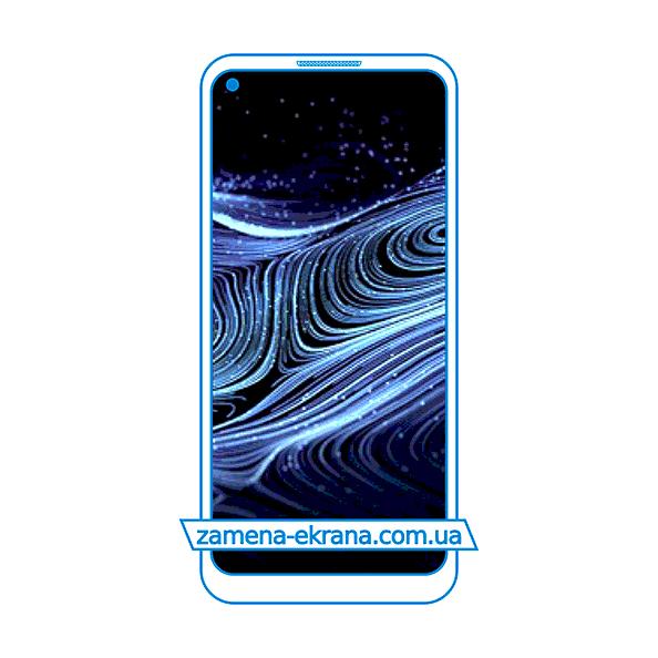 дисплей и стекло корпуса  для замены ZTE Blade X1 5G