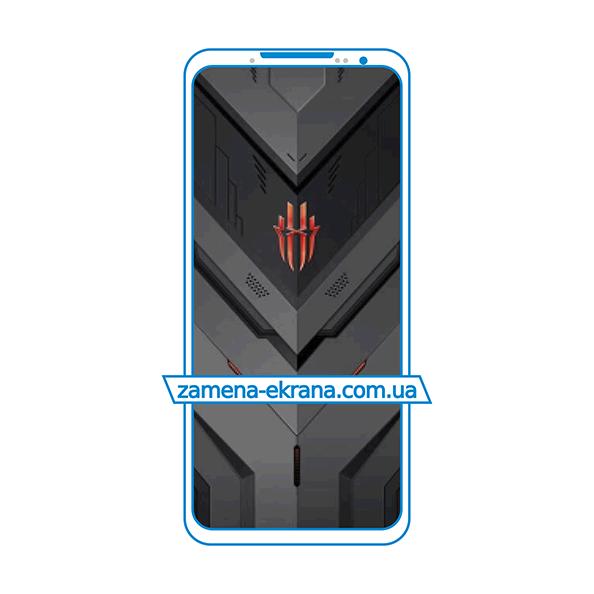 дисплей и стекло корпуса  для замены ZTE Nubia Red Magic 6 Pro