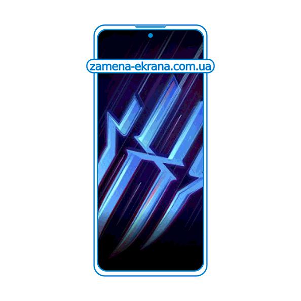 дисплей и стекло корпуса  для замены ZTE Nubia Red Magic 6R